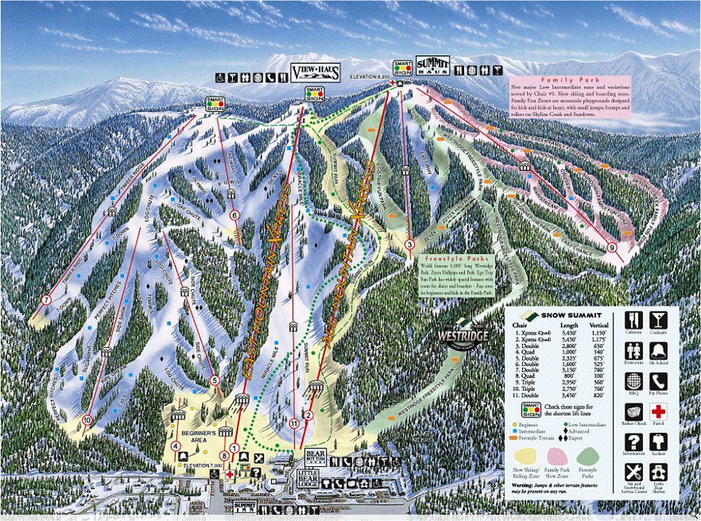 Big Bear Trail Map