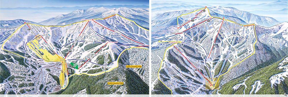 Schweitzer Trail Map